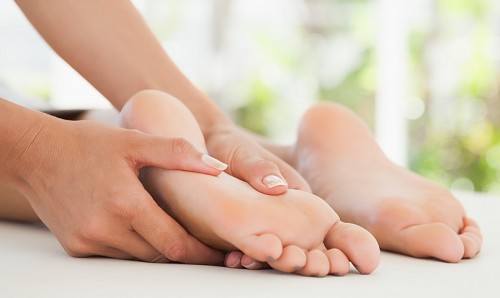 Massage therapy for foot ankle pain